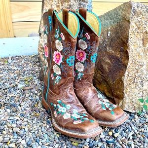 Kid's Macie Bean Honey Bunch Cowgirl Boots